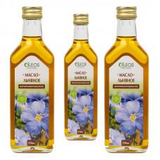 Льняное масло нерафинированное